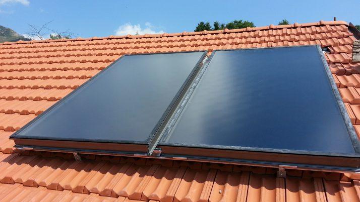 panello solare a circolazione forzata Isoverde