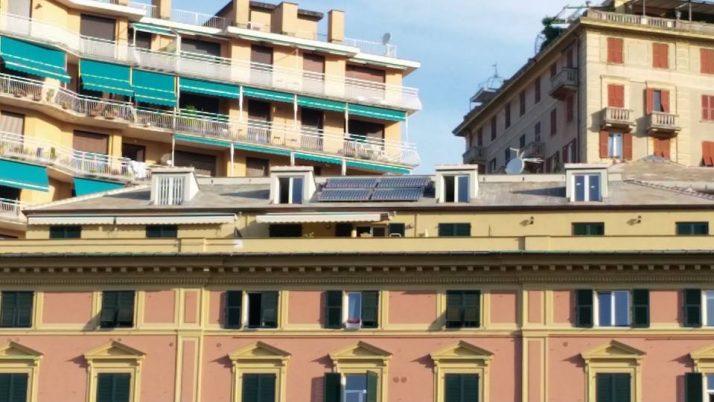 Impianto solare  Passo Barsanti Genova Centro
