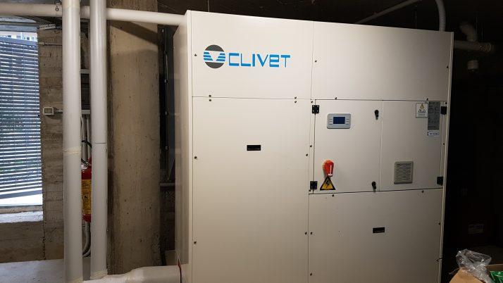 Impianto di condizionamento a refrigerazione presso Via delle Ginestre Bogliasco