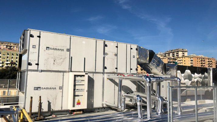 Realizzazione impianti tecnologici RSA Viale Cembrano Genova ( committente Carvin srl)